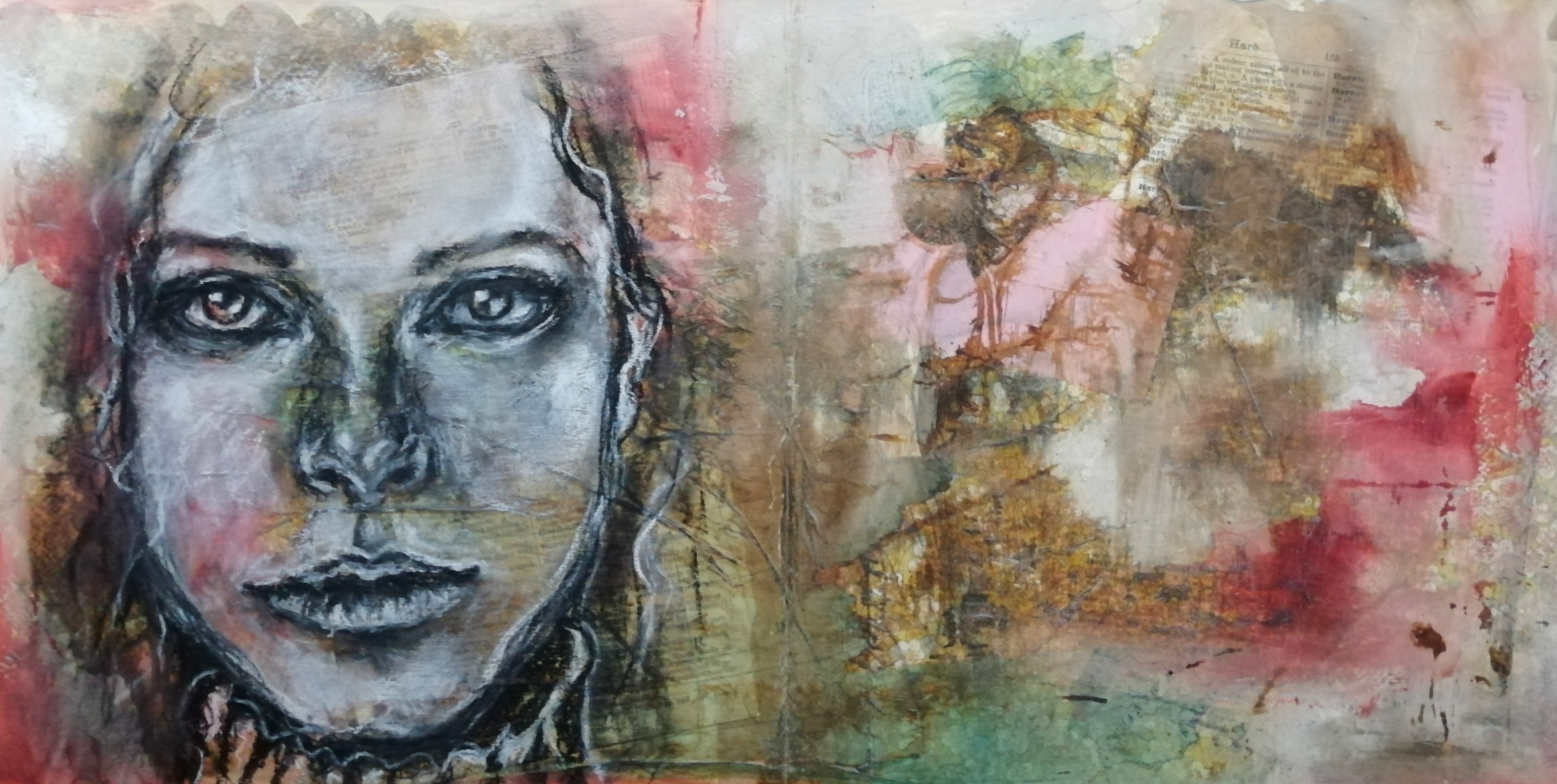 Read more about the article A LOOK IN MY ART JOURNAL AND A NEW PORTRAIT DRAWING